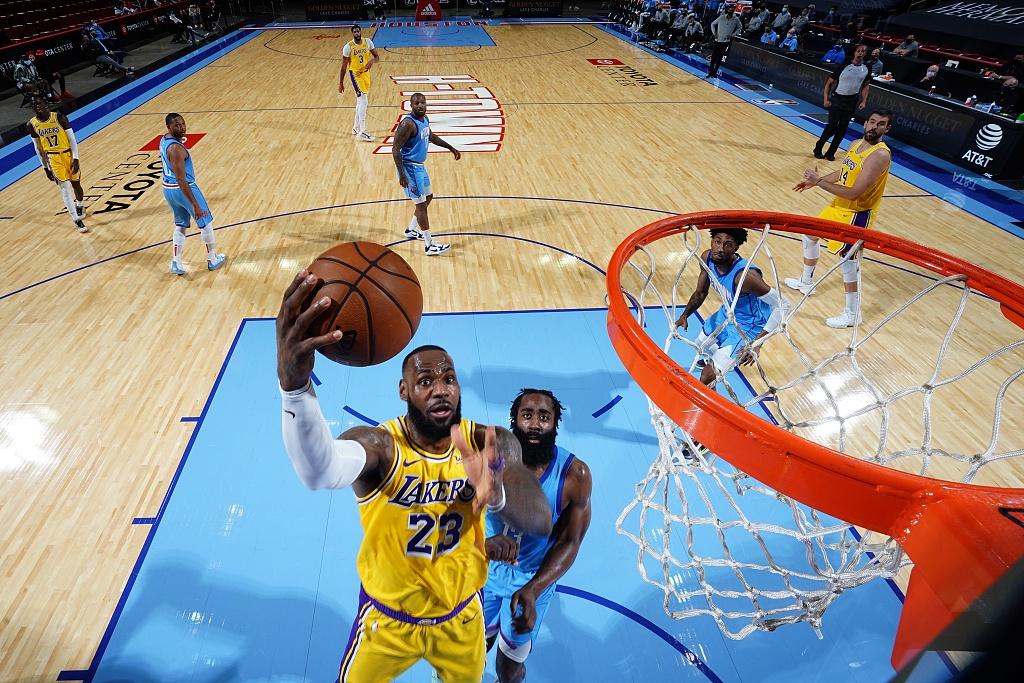 [NBA]湖人117-100火箭