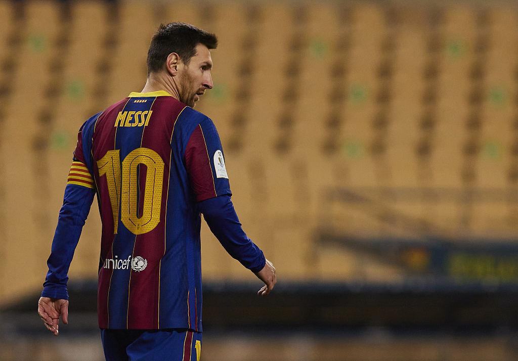 官方宣布!梅西因红牌停赛2场 巴萨将再次上诉