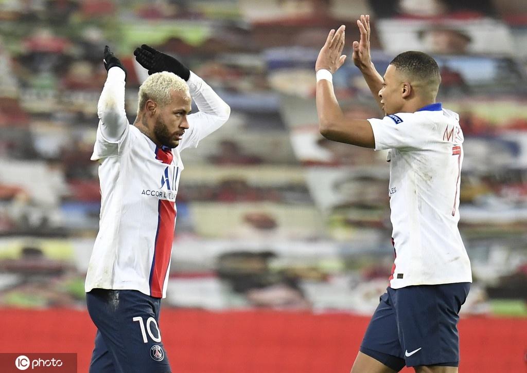 [欧冠]曼联1-3巴黎