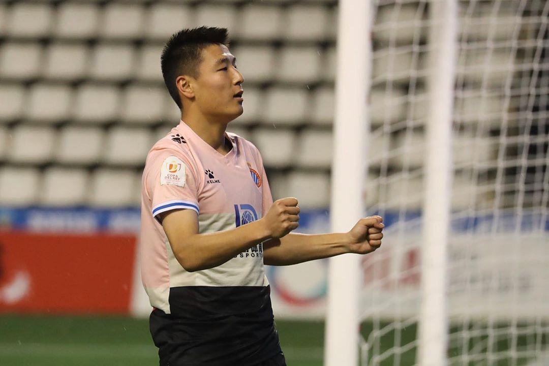 武磊首次在西班牙人独进两球