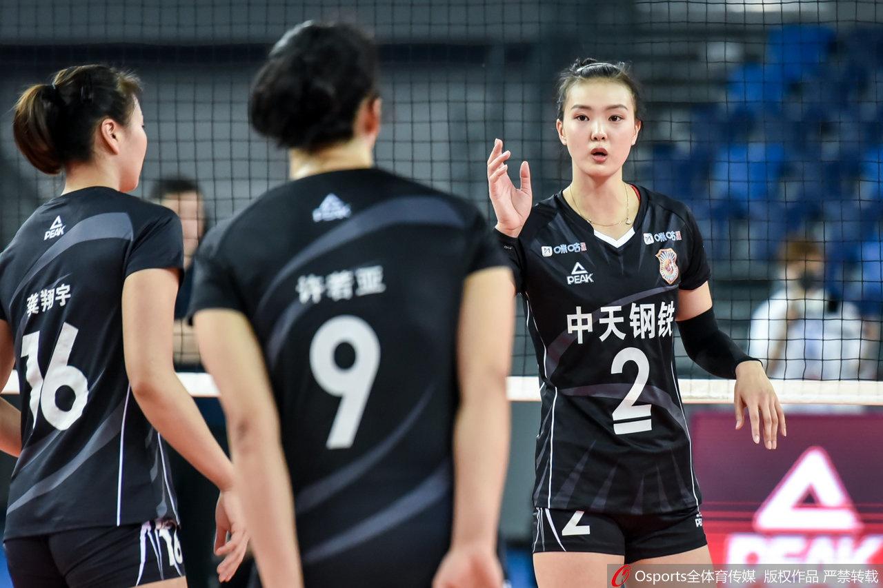 [排超]江苏女排3-1力克北京 张常宁23分