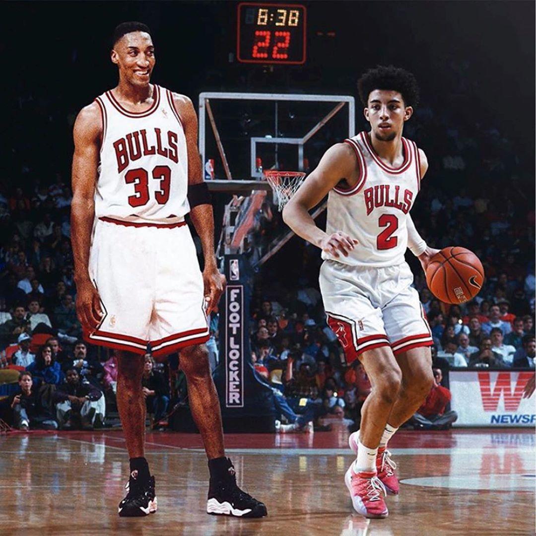 上阵父子兵!詹韦与孩子NBA同场是什么造型