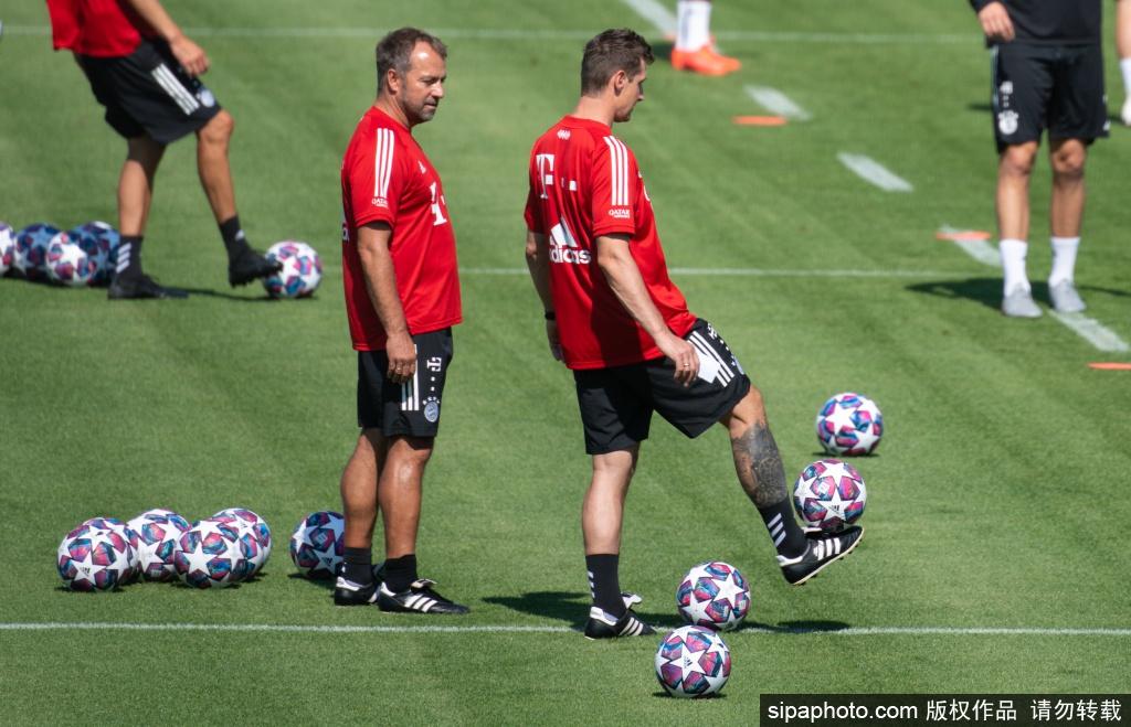 拜仁训练备战比赛