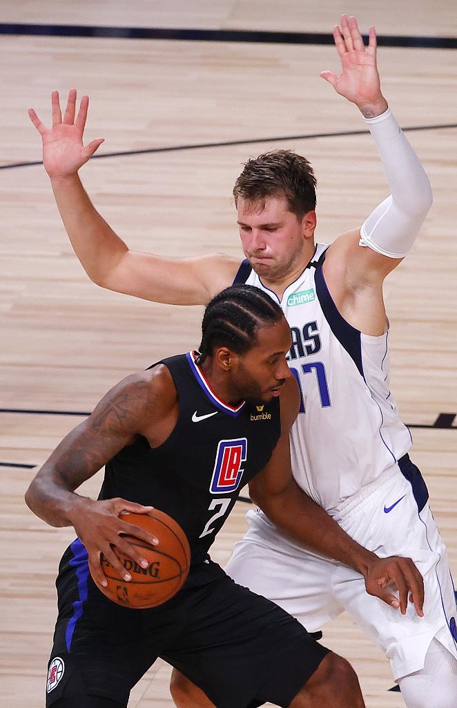 [NBA季后赛]独行侠110-118快船 总分0-1