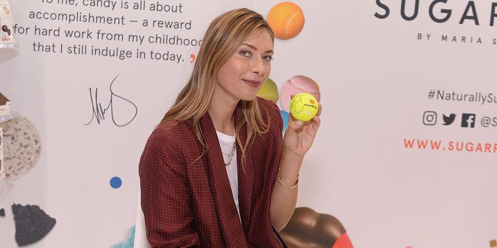 莎娃助力自家糖果品牌 现场奖励员工保时捷
