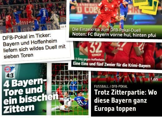 德甲头版:拜仁莱比锡争冠之战 桑乔在多特变重要