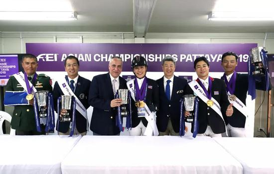 国际马运动员联合会主席、副主席对本届亚冠(泰国)赛给予高度评价