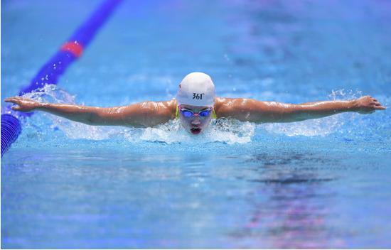 中国游泳队夏季测验赛落幕 亮点闪现名将稳定