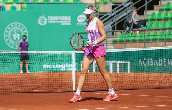 布沙尔时隔4年再进WTA女单决赛 隔离期苦练一环节