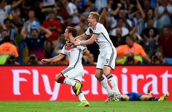 许尔勒:格策多次感谢我在世界杯决赛给他的那次助攻