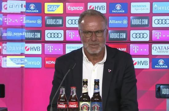 鲁梅尼格:若德甲再次停摆 会有许多球队请求破产