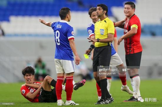 亚冠东亚区1/4决赛裁判:哈桑法律国安 塔基担纲VAR