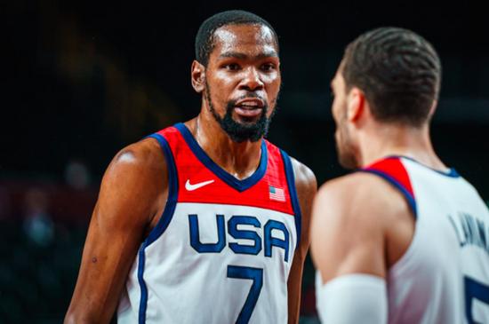 打破纪录!杜兰特成美国男篮奥运得分第一人