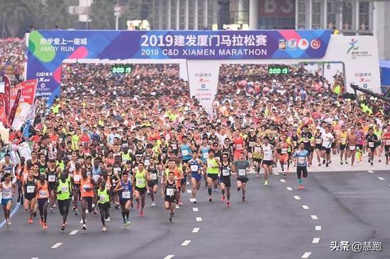 图片来源:厦门马拉松官网