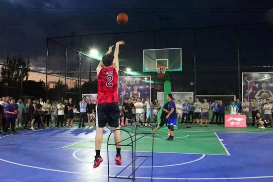 CBA篮球公园国信馆开园仪