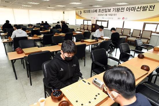 LG杯在韩国棋院进走选拔赛