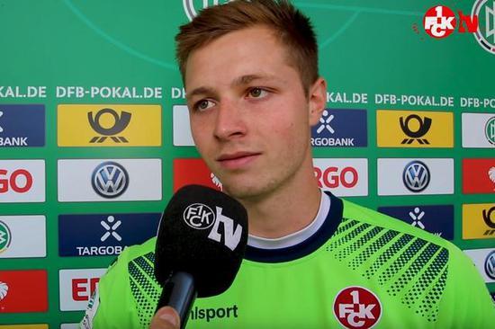 官方:勒沃库森从凯泽斯劳滕签下德国U21门将