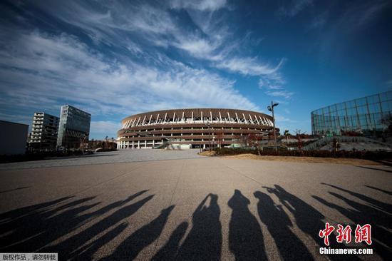 日本国立竞技场外景