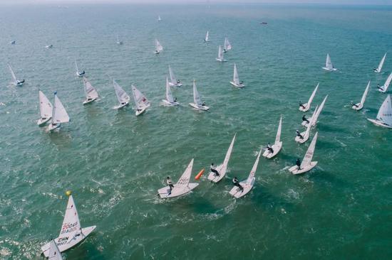 帆船帆板队奥运备战激光雷迪尔级大合练举办
