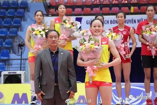 幼将吴晗当选去年U23亚锦赛MVP