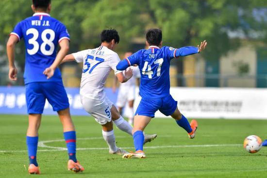 武磊小师弟:要学金信煜的拿球 蓝白争霸赛节奏太快