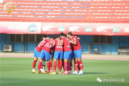 热身赛-多拉多2球杨国元建功 建业3-1逆转长安竞技