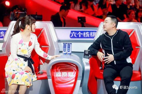 福原喜欢与刘国梁一首参加国内综艺节现在