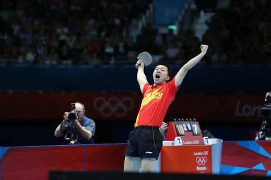 重温 伦敦奥运男团半决赛 张继科负波尔马龙得2分