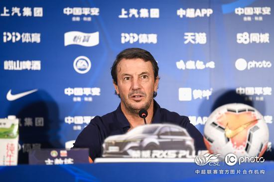 何塞:我们会尊重每一名青岛队球员 众将恢复的很好