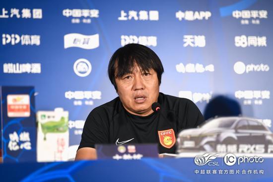 谢峰:3连胜让球队精神有很大提升 永昌非常有特点