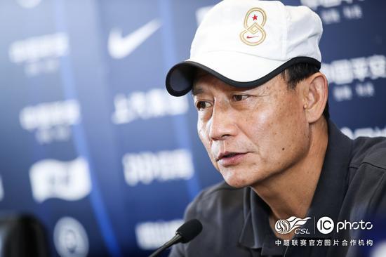 王宝山:希望阿奇姆彭打破球荒 成绩对自信打击大