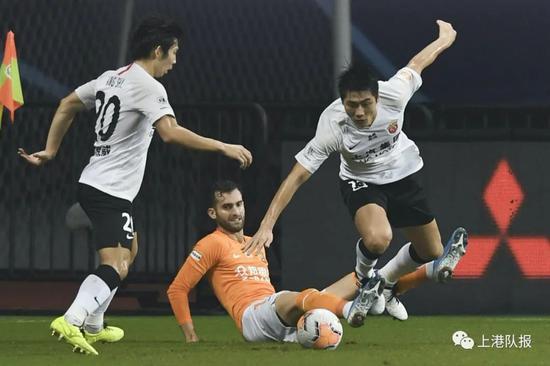 上港青训小将立足两级联赛 实战带来更大提升空间