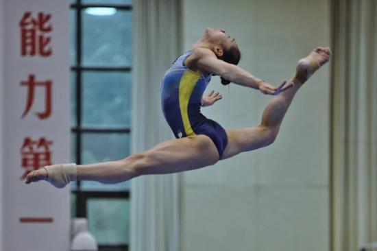 中国体操队加强文化建设