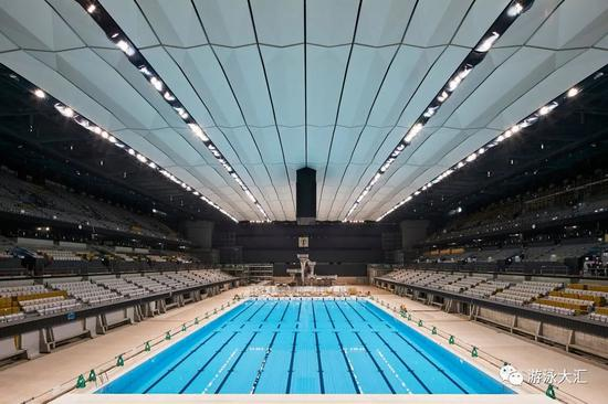 东京奥运游泳馆正式敞开 1.5万座位投资超5亿美元