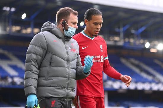 利物浦或许不会在冬窗签下一名后卫去替代范戴克