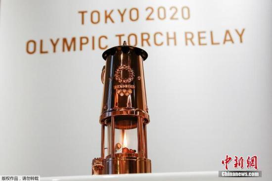 东京奥运圣火巡回展现在金泽建议 将巡展近半年