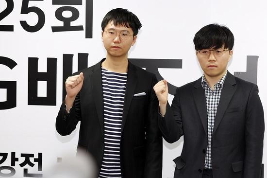 两位韩国新锐闯进LG杯四强