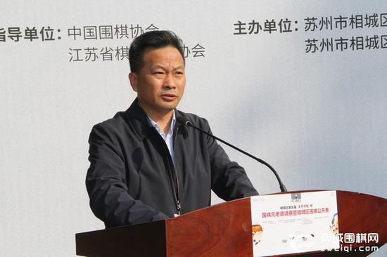 高铁新城党工委委员、太平街道党工委书记周雪峰