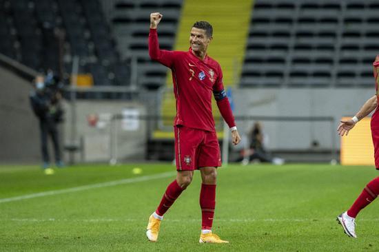 葡萄牙主帅:C罗参加了全部训练 身体适合比赛