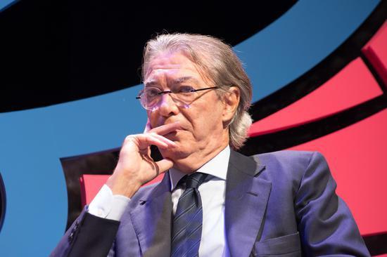 莫拉蒂:国米可能卖掉埃里克森 买坎特能闻名意甲