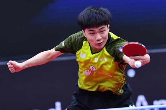中国台北选手林昀儒