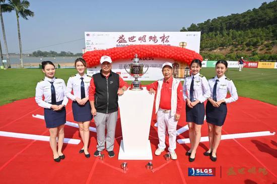 超级荔枝董事长张伟(左三)与新明珠集团董事长兼总裁叶德林