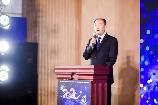 中国高尔夫球协会副秘书长金宏文致辞