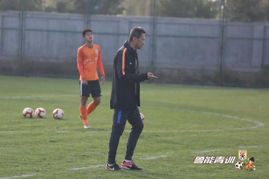 张海涛对球员要求十分严格