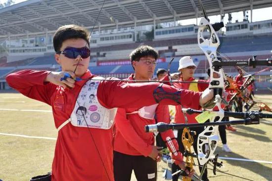 中国射箭队以实战标准提高打赢能力 奥运最终名单3月确定