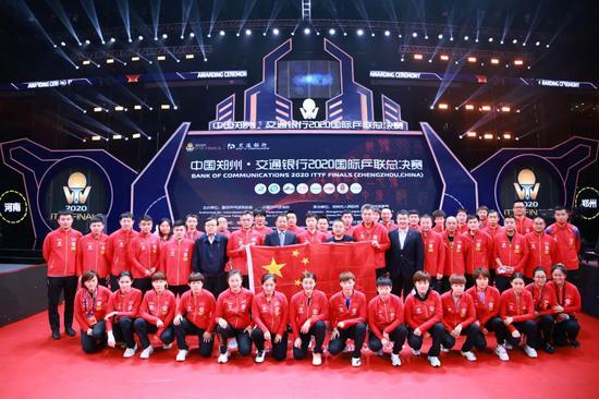 中国乒乓球队赛练结合成效良好 稳坐霸主地位新鲜血液注入