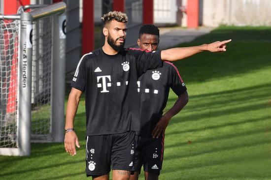 舒波莫廷受伤缺席拜仁训练 或将错过德国杯的比赛