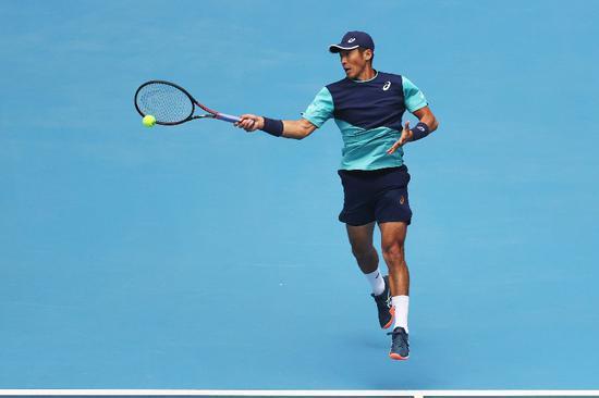 澳网资格赛李喆错失两个赛点遭逆转 无缘正赛
