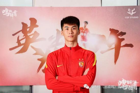 专访广州队吴少聪:依然要争冠 上赛季给自己打6分