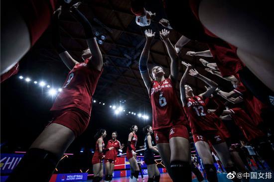 中国女排提前无缘世联赛四强:对阵美国 模拟奥运